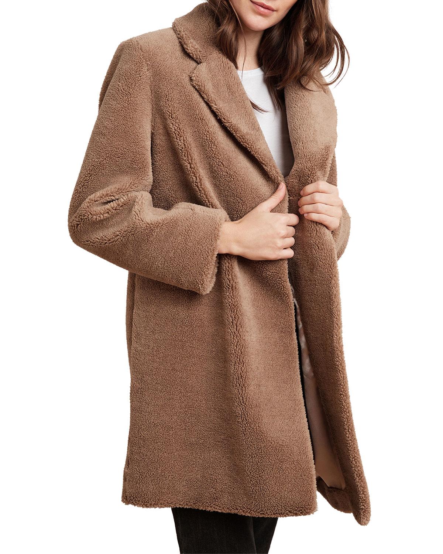 Velvet Coats TRISHELLE SHERPA FLEECE COAT