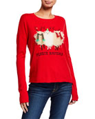 Lisa Todd Fleece Navidad Holiday Sweater