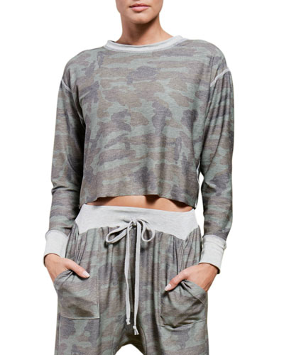 Rori Reversible Cropped Pullover
