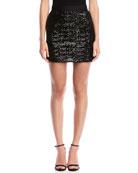 Bailey 44 Brigitte Sequined Short Skirt