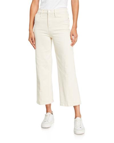 Ali Wide-Leg Crop Jeans