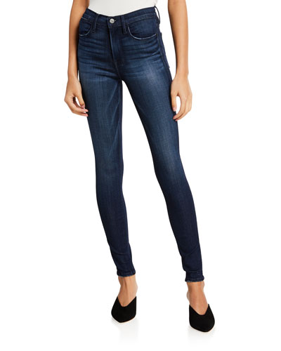 Le High Ankle Skinny Jeans