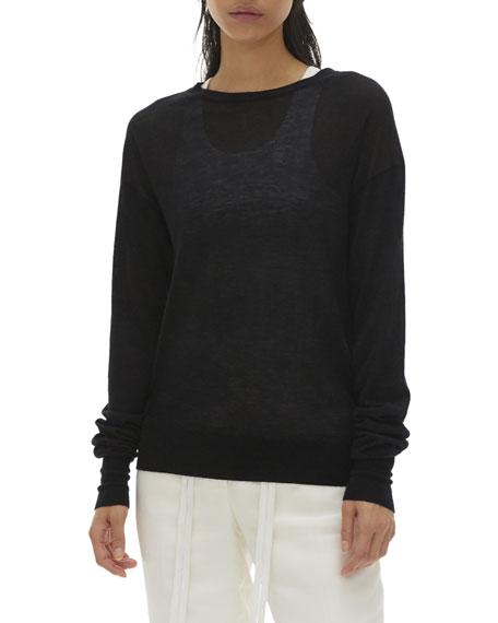 Helmut Lang Crewneck Cashmere Sweater
