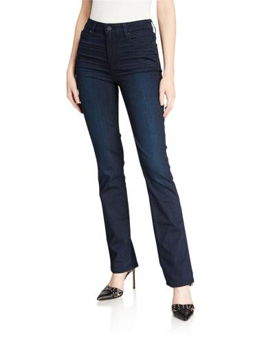 Hoxton Mid-Rise Straight-Leg Jeans