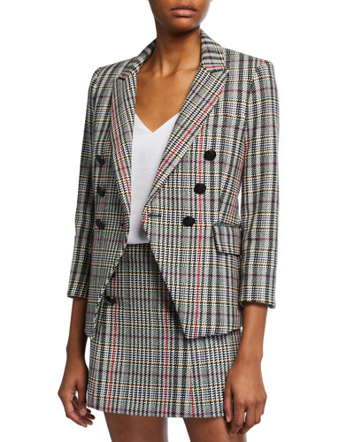 Empire Dickey Plaid Jacket