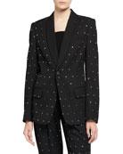 A.L.C. Oren Crystal-Embellished Jacket