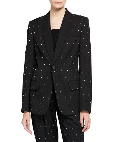 Oren Crystal-Embellished Jacket