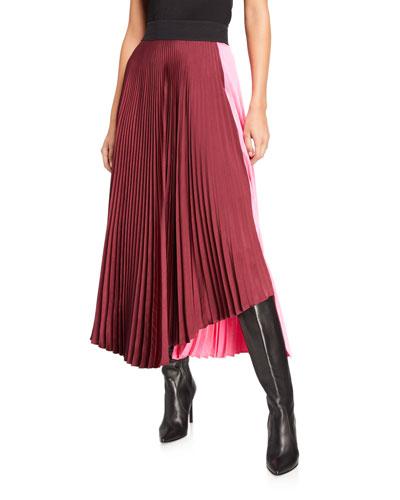 Grainger Pleated Skirt