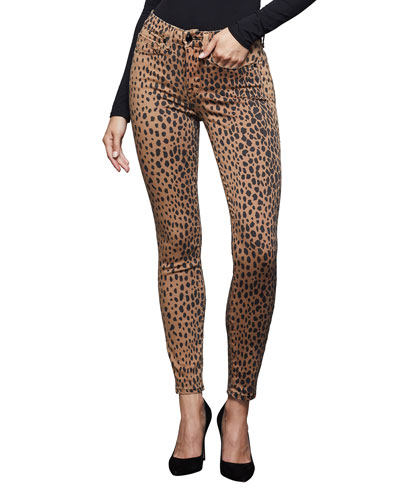 Good Waist Printed Ankle Skinny Jeans - Inclusive Sizing