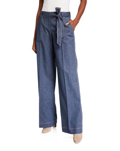Retro Cotton Broadway Pants