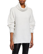 ATM Anthony Thomas Melillo Chenille Turtleneck Sweater
