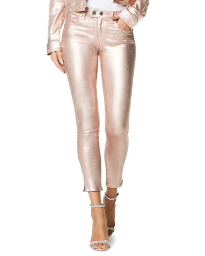 Kate Metallic Skinny Jeans
