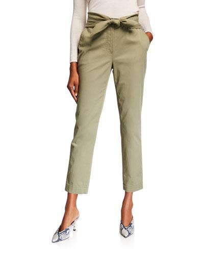 Leda Tie-Waist Trousers