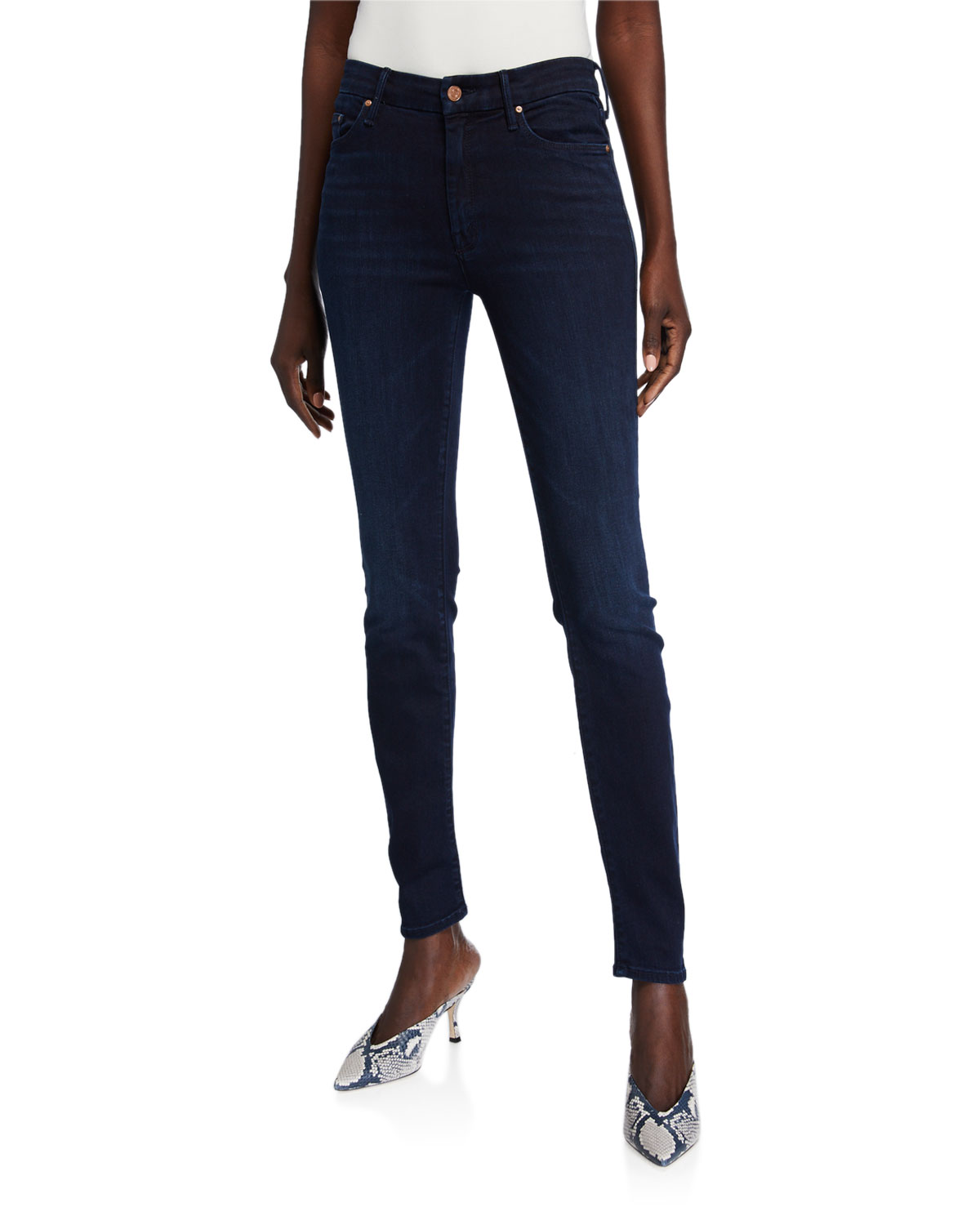 Mother Jeans THE SUPER LOOKER SKINNY JEANS