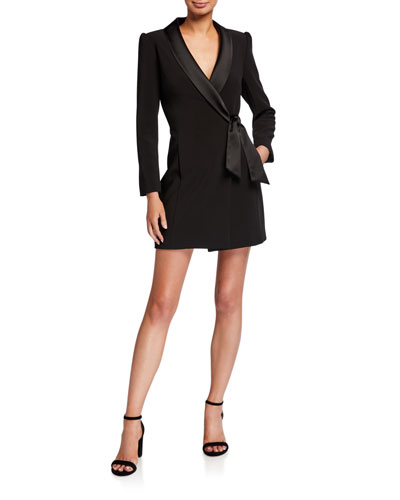 Heather Cady Blazer Wrap Dress