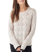 Splendid Parker Pointelle Sweater