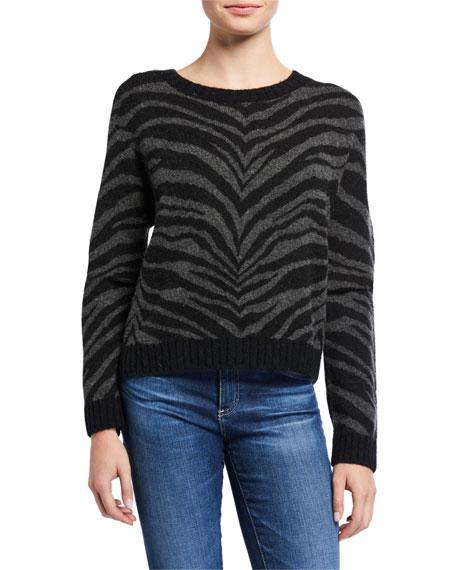 Rails Chance Tiger-Print Sweater