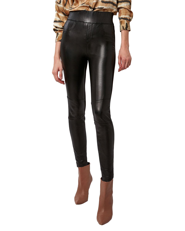 Gigi Leather Leggings