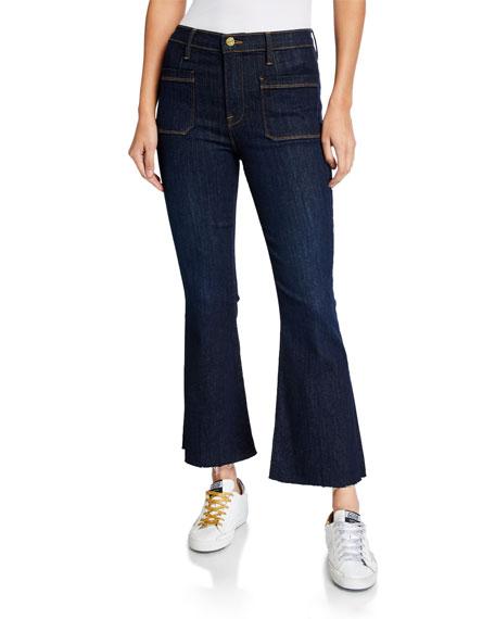 FRAME Bardot Crop Flare Jeans