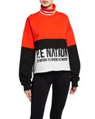 PE Nation Real Challenger Turtleneck Sweatshirt