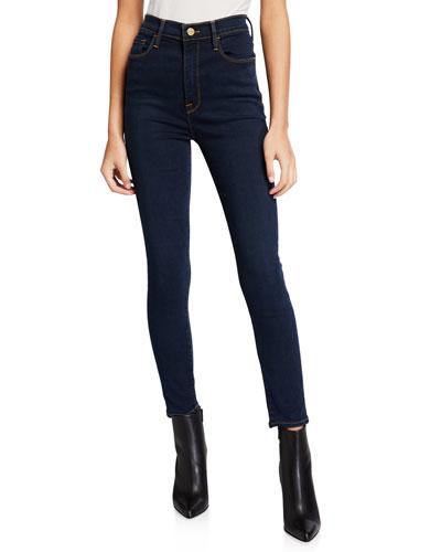 Ali High-Rise Cigarette Skinny Jeans