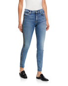 7 for all mankind High-Waist Ankle Skinny with