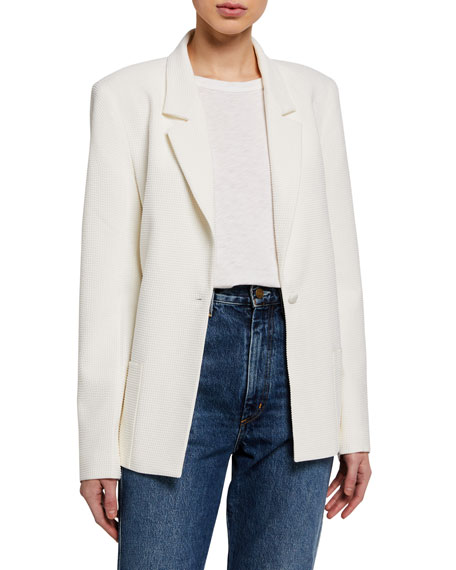 RtA Sasha Single-Button Blazer