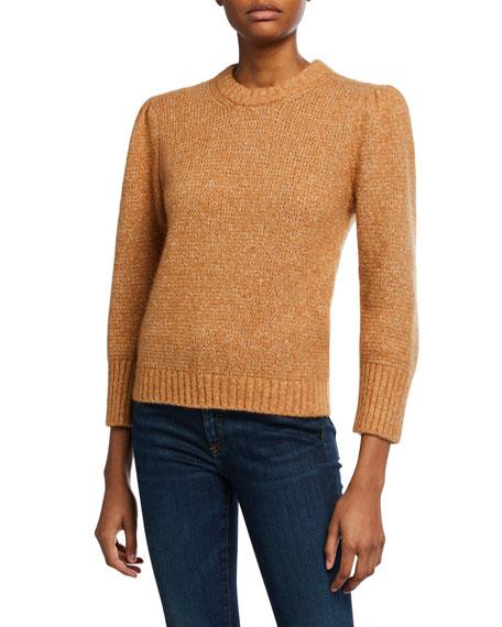 Veronica Beard Holly Crewneck Pullover Sweater