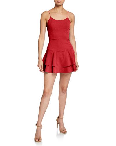 Palmira Mini Ruffle Tank Dress