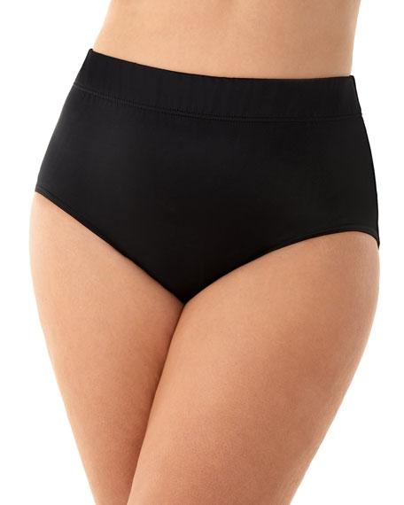 Miraclesuit Plus Size Basic Full-Coverage Bikini Bottom