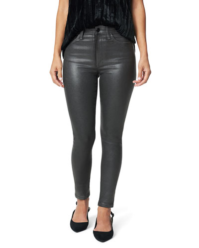 The Charlie Ankle Coated Jeans