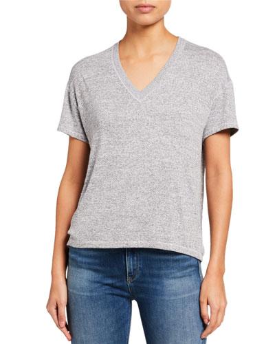 Avryl V-Neck Short-Sleeve T-Shirt