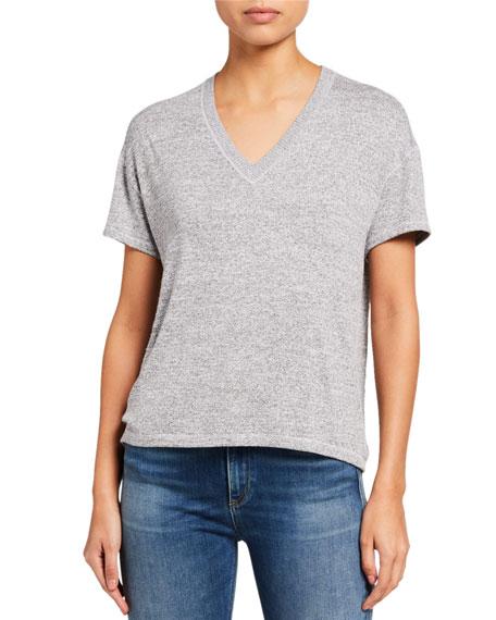Rag & Bone Avryl V-Neck Short-Sleeve T-Shirt