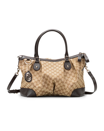Sukey Large Top Handle Bag, Cocoa or Black