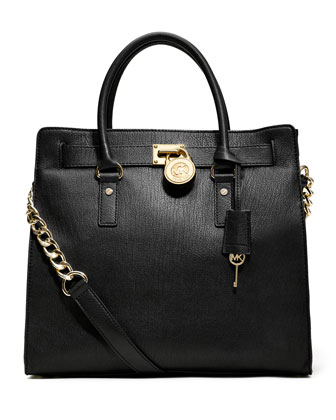 Hamilton Large Tote, Black