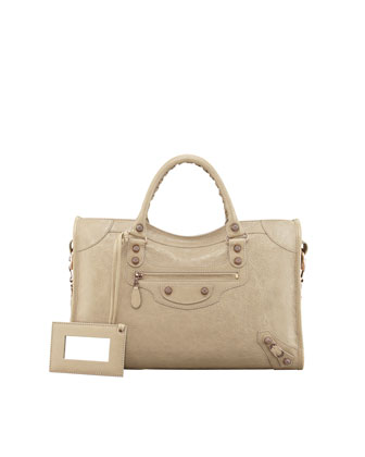 Giant 12 Rose Golden City Bag