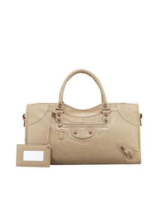 Giant 12 Rose Golden Part Time Bag, Latte