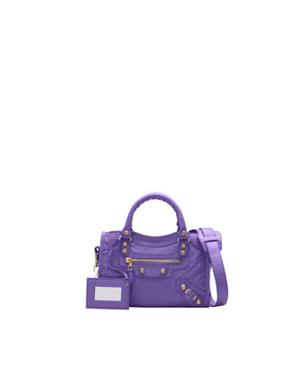 Mini Giant 12 Golden City Bag, Mauve