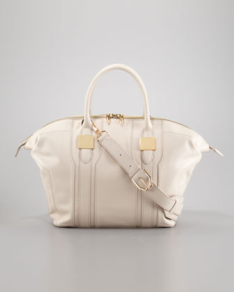 Morrison Medium Tote Bag, Light Beige
