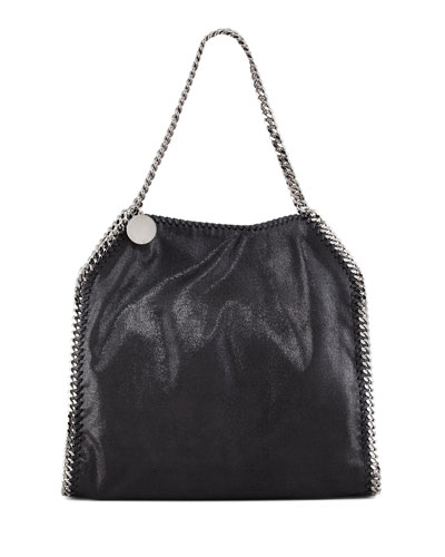 Falabella Small Tote, Black