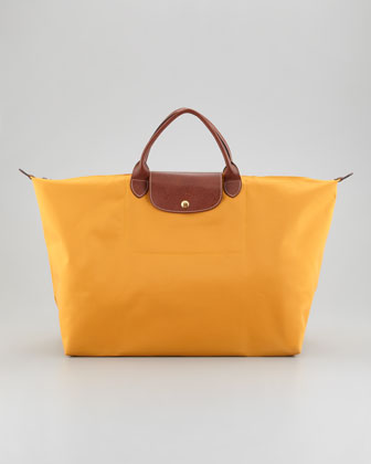 Le Pliage Large Tote Bag, Sunshine