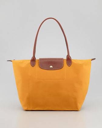Le Pliage Large Shoulder Tote Bag, Sunshine