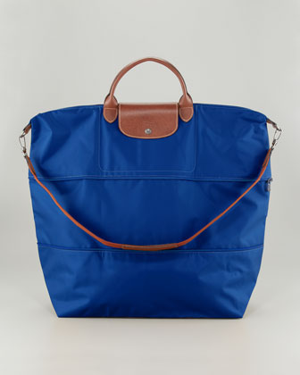 Le Pliage Expandable Tote Bag, Indigo