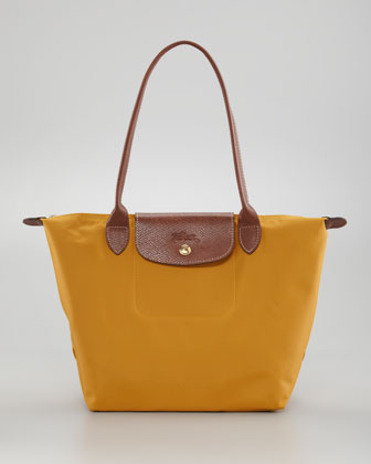 Le Pliage Small Shoulder Tote Bag, Sunshine