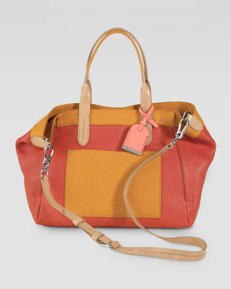 Crosby Colorblock Tote Bag