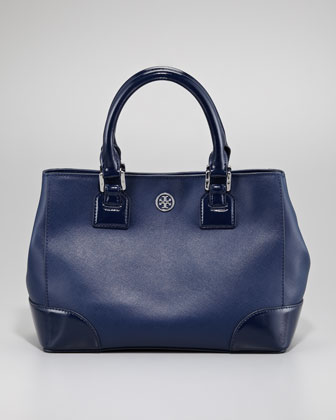 Robinson Mini Square Tote Bag, Navy