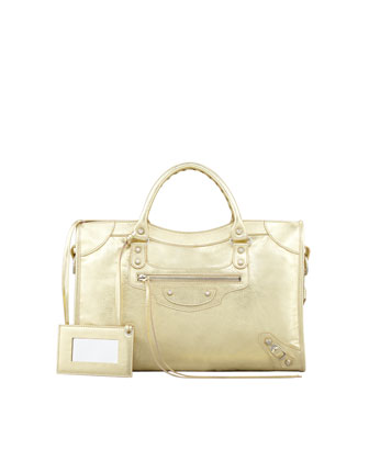 Classic City Bag, Gold