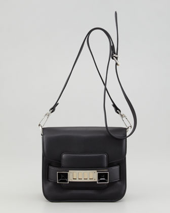 PS11 Tiny Crossbody Bag, Black