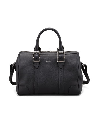 Trinity Satchel Bag, Black