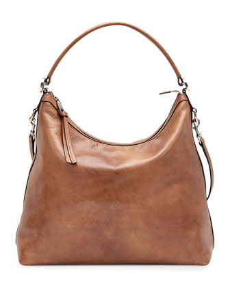 Miss GG Leather Hobo, Tan